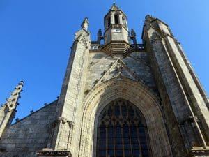 Entrée église de Guérande